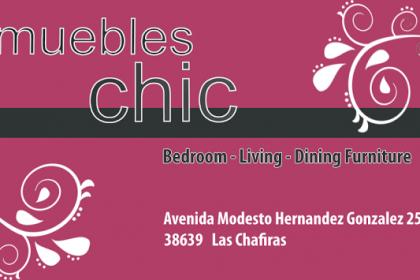 Tienda de muebles en Las Chafiras, Chic